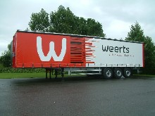 These sliding tarpaulins were set up on a Weerts' semitrailer